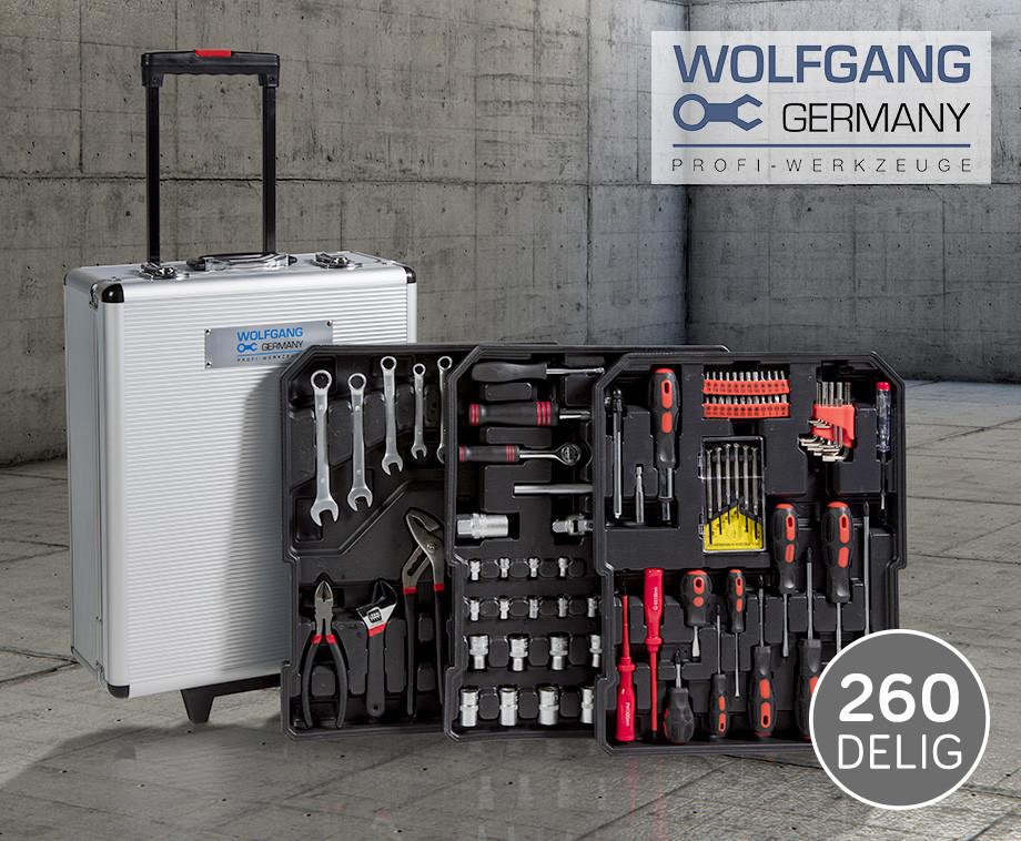 260-Delige Wolfgang Germany Gereedschapstrolley - Bespaar Honderden Euro's Op Ge