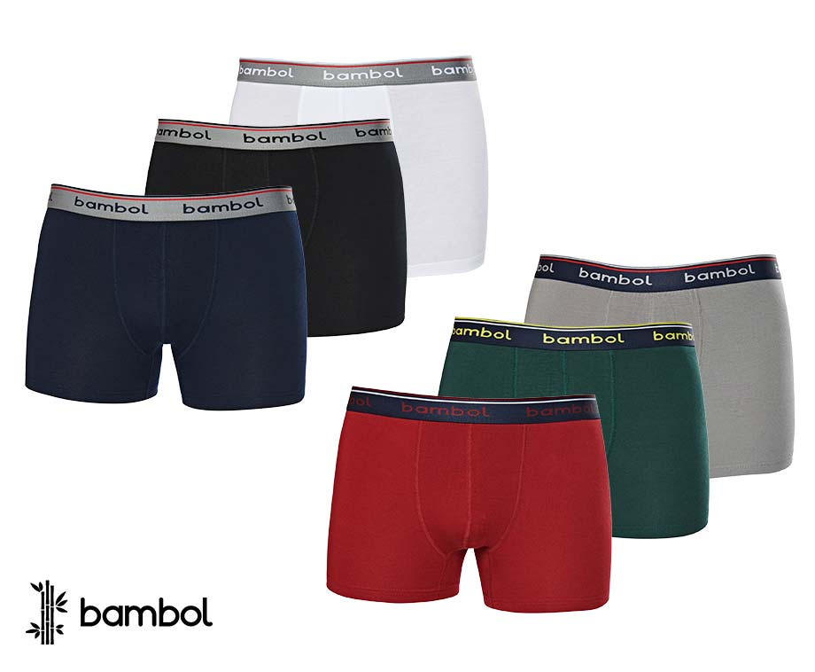 3-Pack Bamboo Boxers - Heerlijk Zacht En Perfecte Pasvorm!