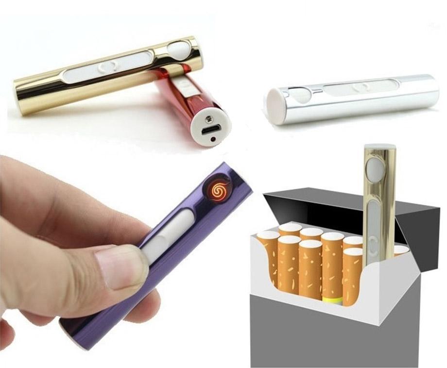 Sigaret Formaat USB Aansteker - Verkrijgbaar In 3 Kleuren!