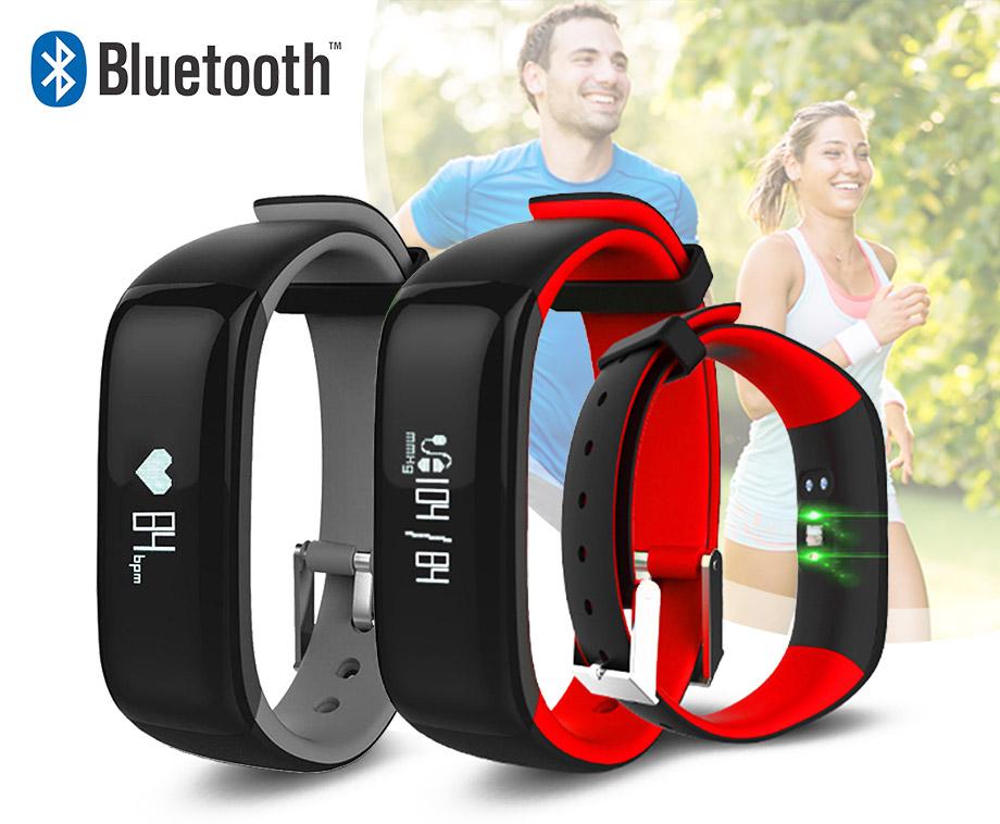 Activity Tracker Smartwatch - Met Bloeddruk- En Hartslagmeter!