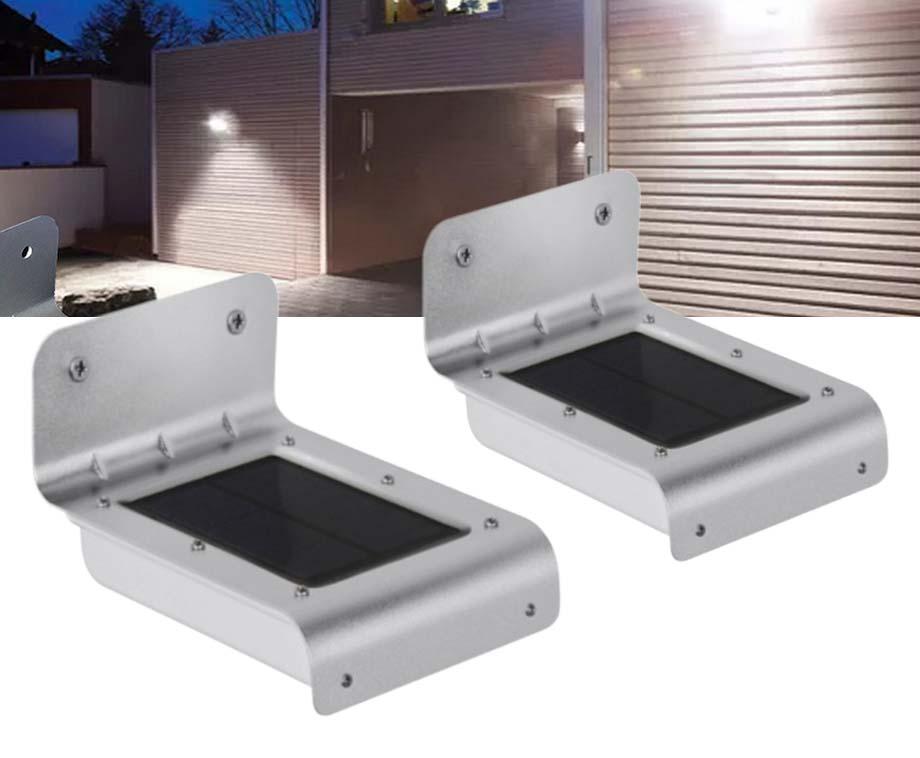 Dagaanbieding - 2-Pack Eco Solar LED Buitenlampen-Werkt Volledig Op Zonne-Energie dagelijkse koopjes