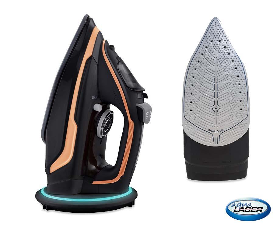Aqua Laser Draadloos Stoomstrijkijzer - Voor Al Je Wasgoed!