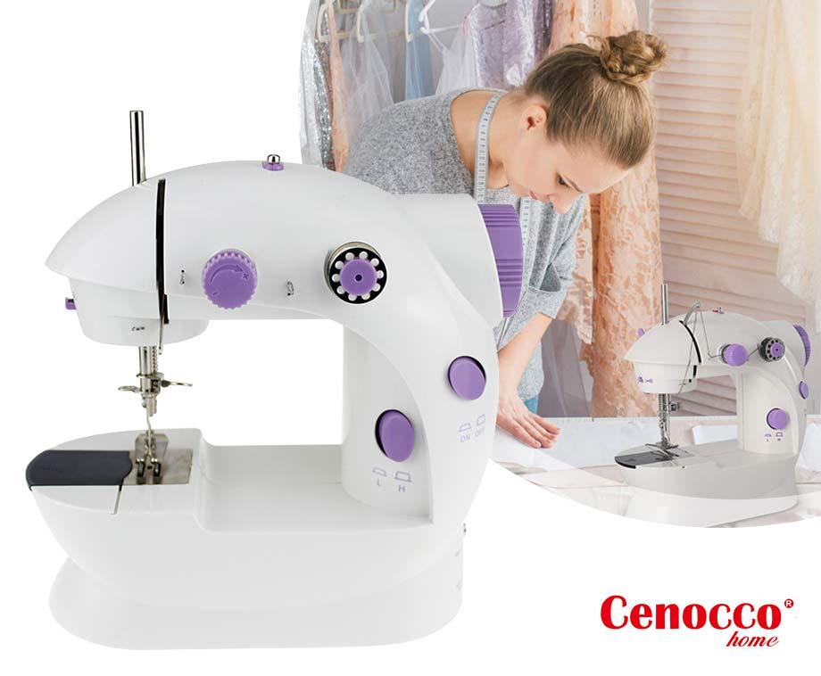 Cenocco Mini Naaimachine - Licht, Compact En Draagbaar Ontwerp!