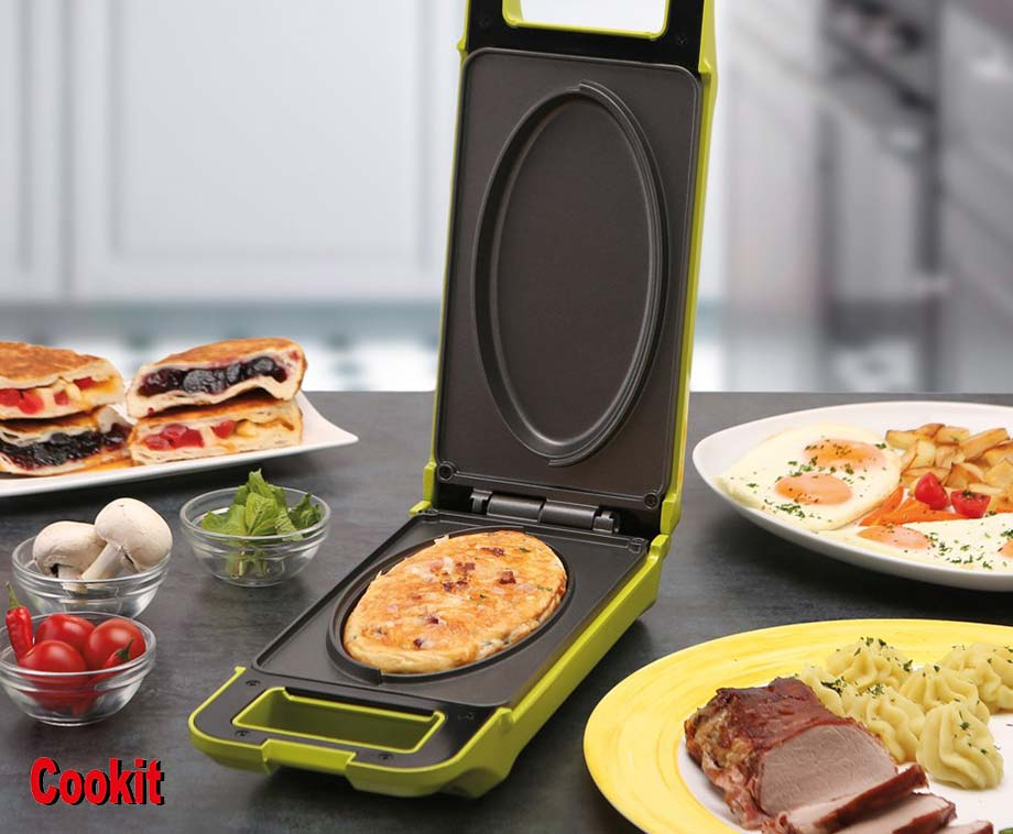 Cook It Multigrill - Dubbelzijdige Mini Oven & Grill!