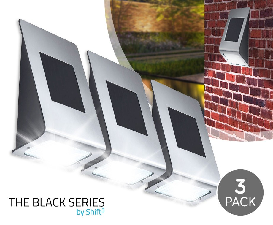 3 pack draadloze led solar light zeer eenvoudige montage dagelijkse topaanbiedingen. Black Bedroom Furniture Sets. Home Design Ideas