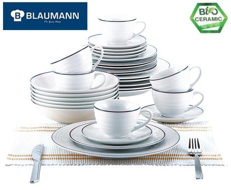 Servies Set Porselein.30 Delige Blaumann Serviesset Gemaakt Van Hoogwaardig Porselein