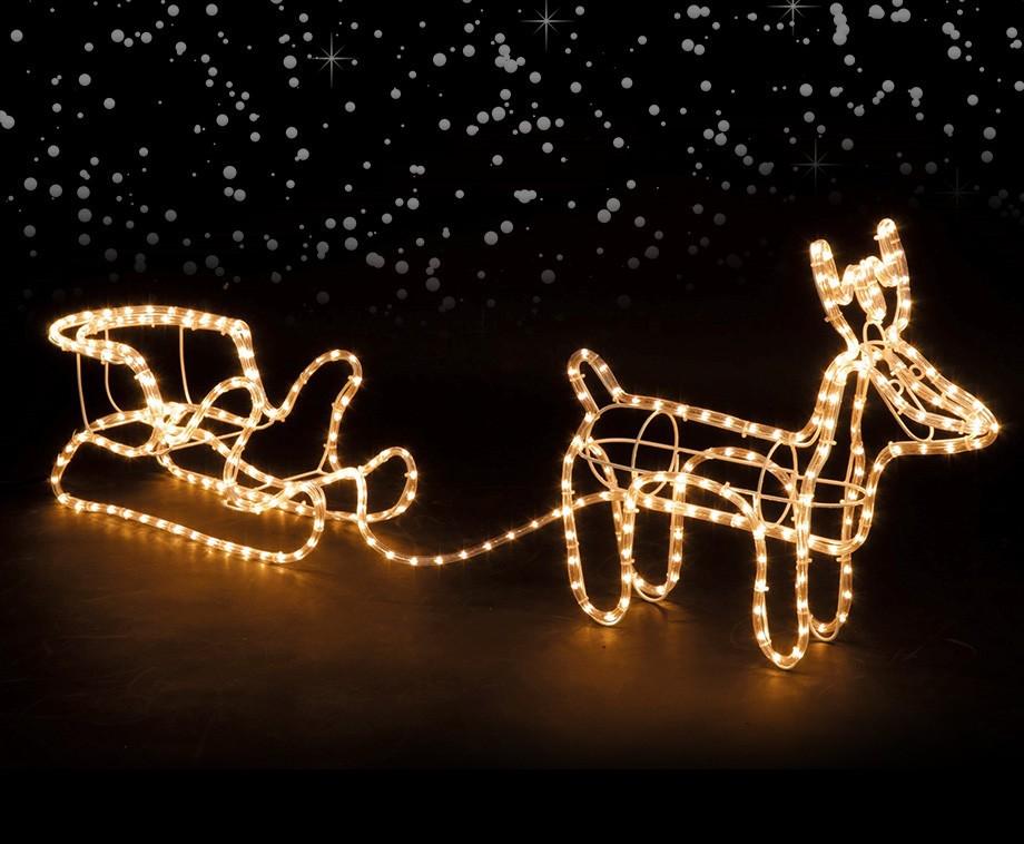 led rendier arrenslee kerstverlichting voor binnen of buiten