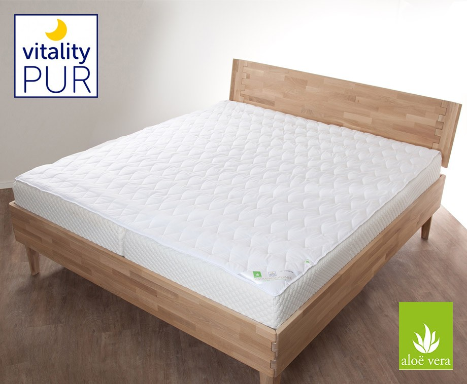 Aloe Vera Matras : Vitality pur matrasbeschermer met aloë vera hygiënisch en zeer