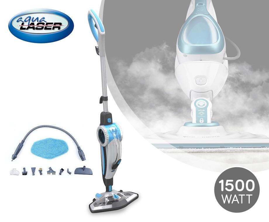 Aqua Laser 2-In-1 Stoomreiniger - Met Uitneembare Handstoomreiniger ...