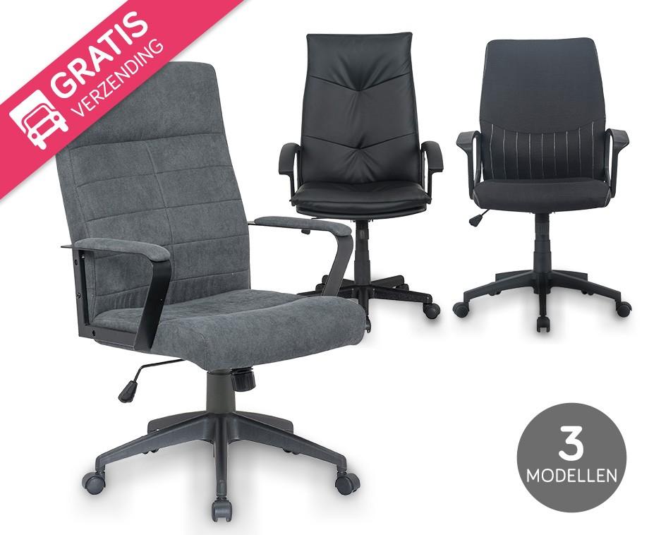 Gratis Bureau Stoel.Bureaustoel 3 Modellen Vandaag Met Gratis Verzending