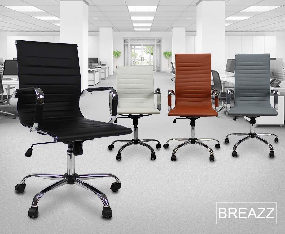 Mooie Stevige Bureaustoel.Breazz Ergonomische Bureaustoel Verkrijgbaar In 4 Mooie Kleuren