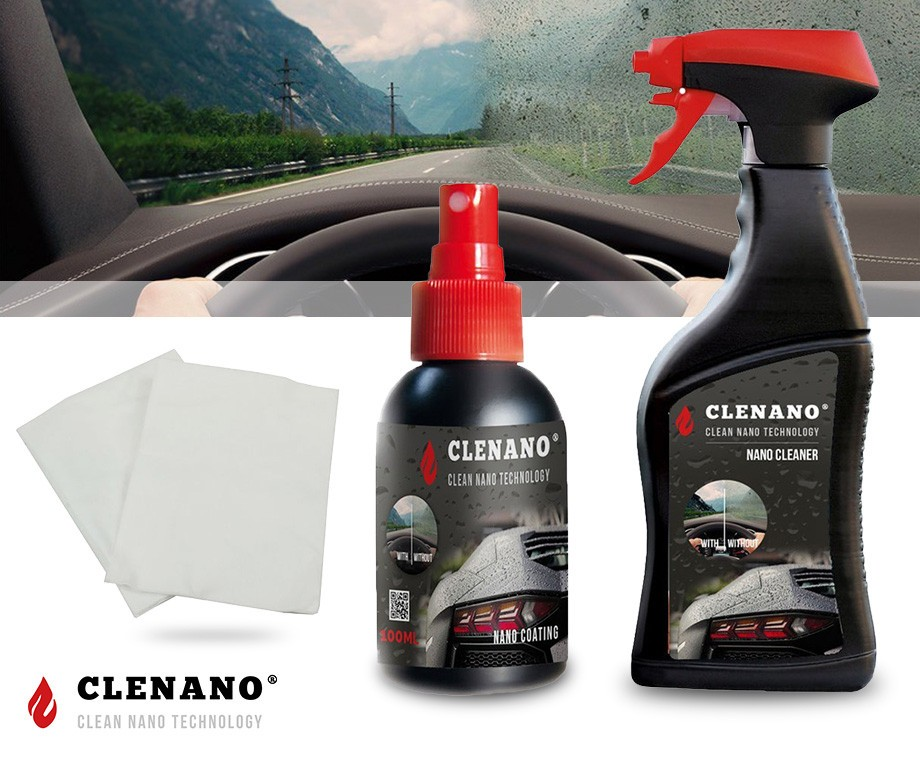Nano Coating Badkamer : Clenano vuilafstotende nano kit voor auto helm badkamer en