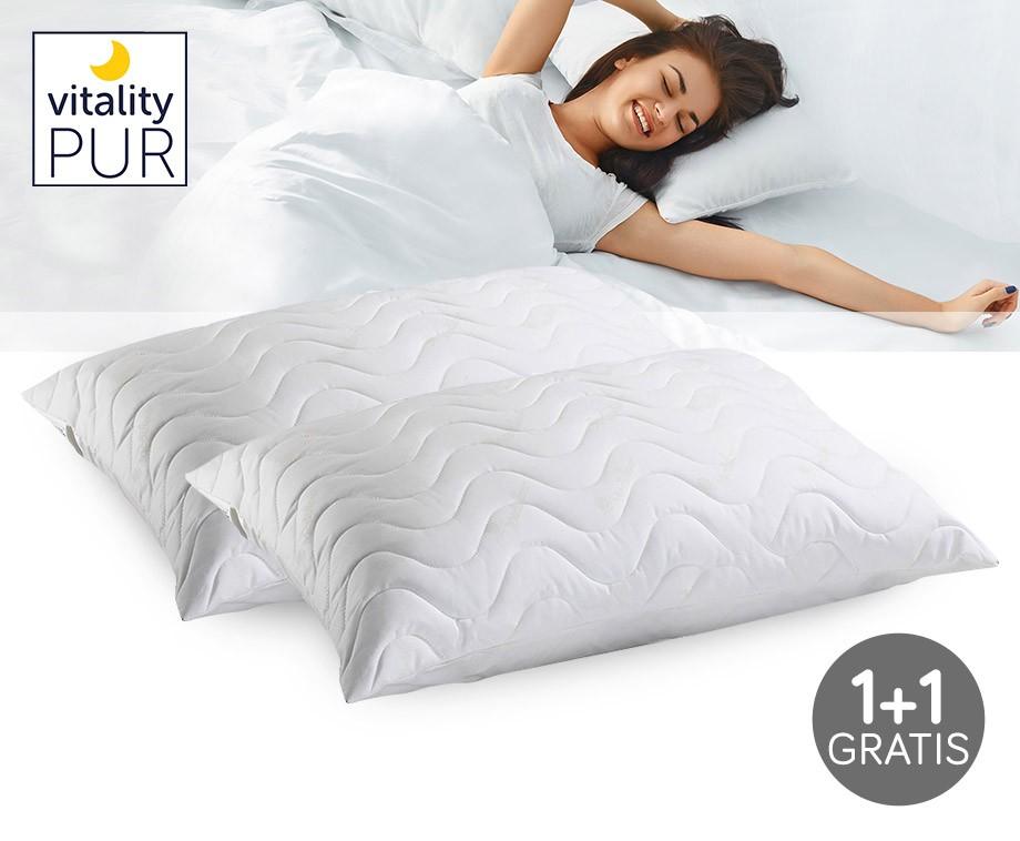 Vitality pur trendline comfort hoofdkussen 1 1 gratis! dagelijks