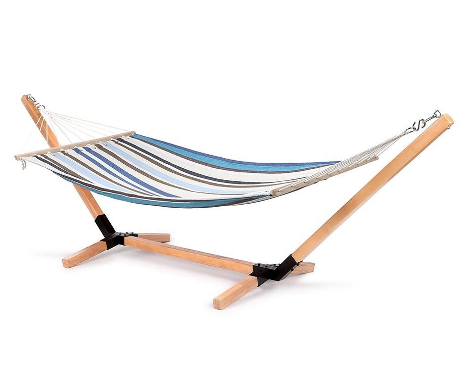 Aanbieding Hangmat Met Standaard.Feel Furniture Hangmat Standaard Robuust Houten Ontwerp