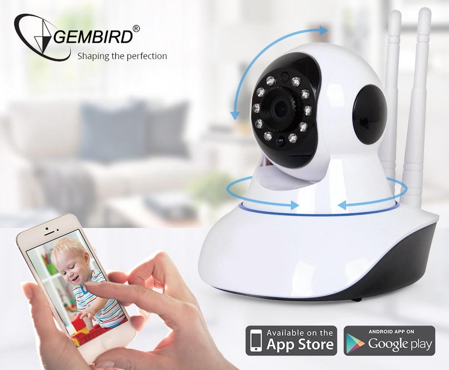Gembird Wifi IP Camera - Op Afstand Besturen En Communiceren!