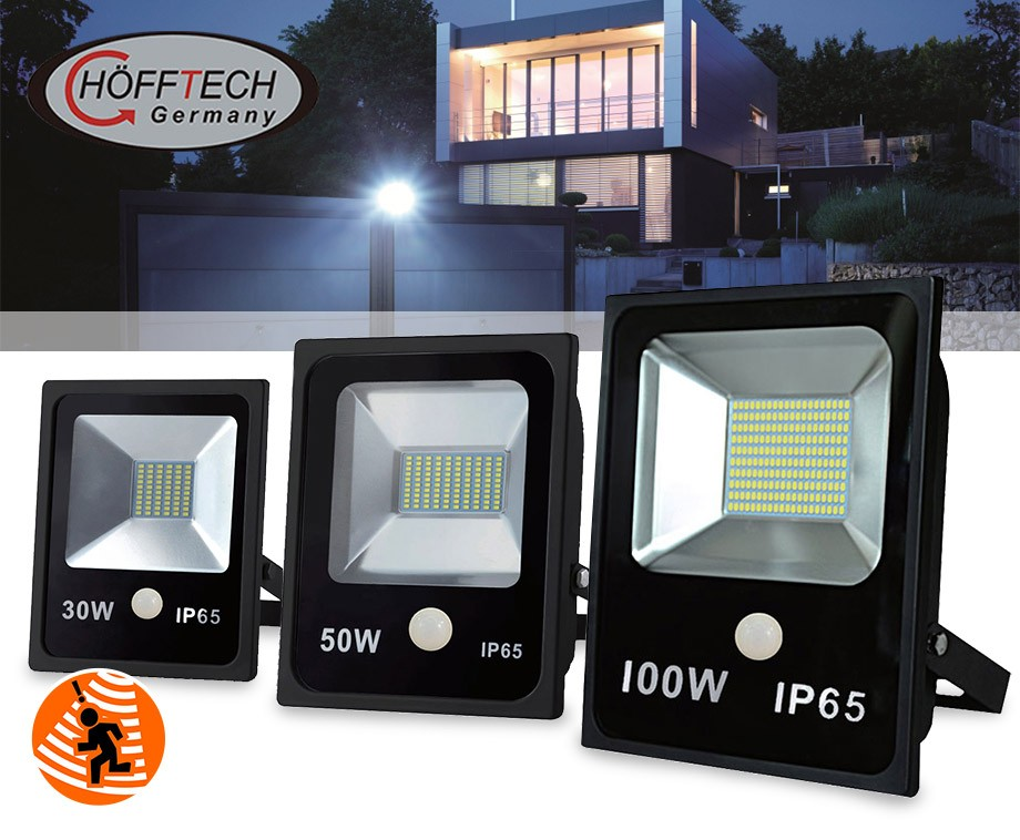 Super Hofftech Extreem Felle 30W, 50W Of 100W LED Straler Met ZU83