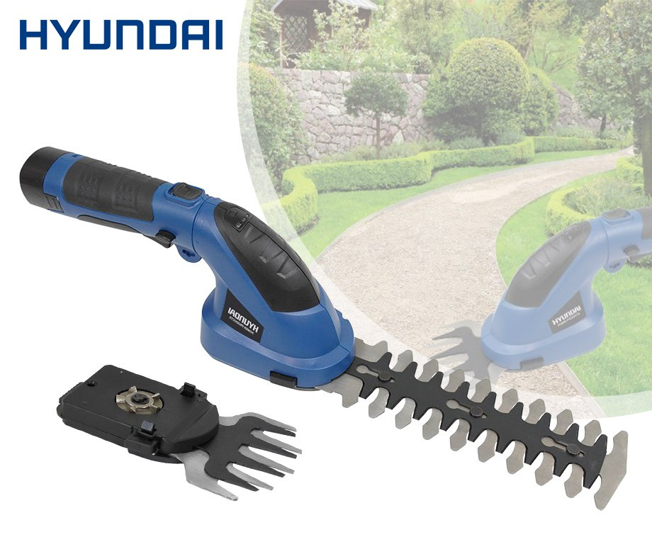 Populair Hyundai 3-in-1 Elektrische Heggenschaar - Voor Snoeien En DW52