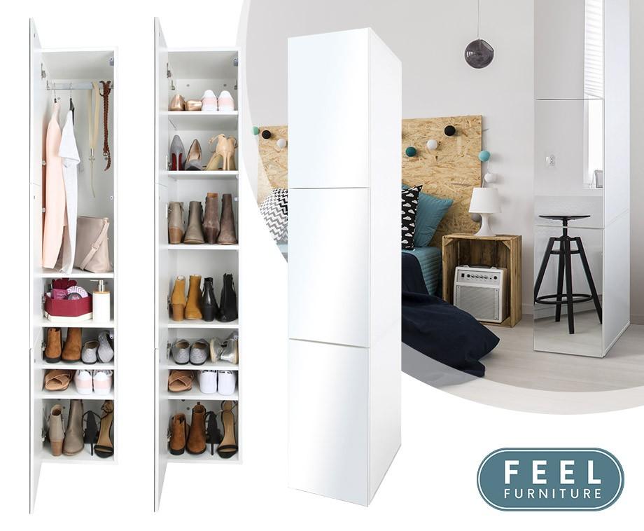 Feel Furniture Kast Met Spiegeldeur Overal In Huis Te Gebruiken