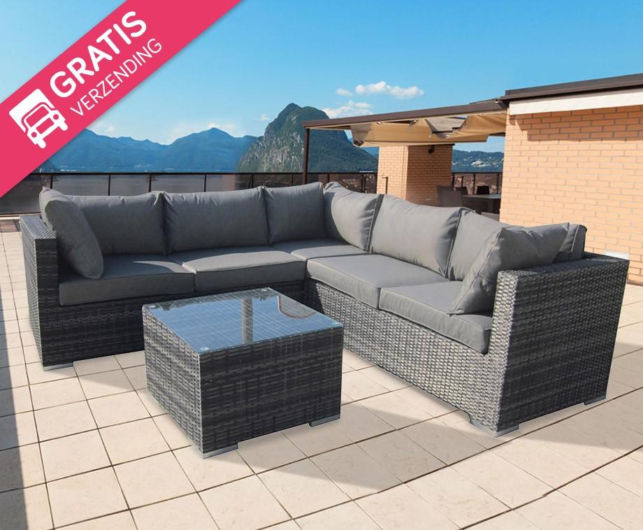 Lounge Set Tuin : Luxe loungeset voor in de tuin verschillende sets verkrijgbaar