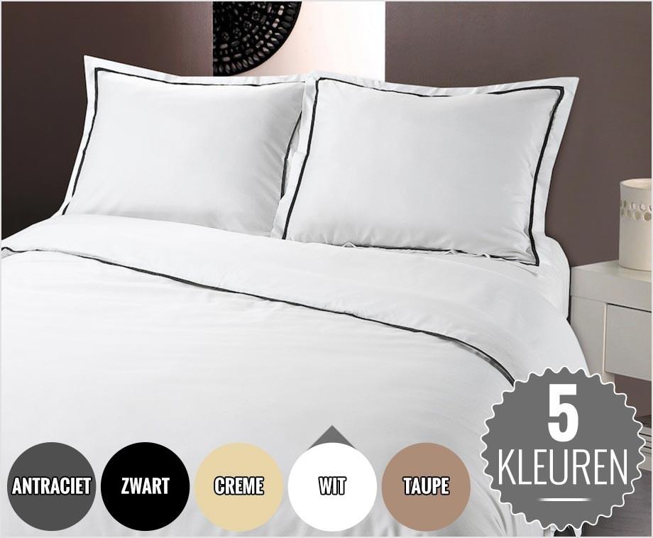 Linnen Dekbed Slaapkamer : Luxe zachte hotel linnen dekbedovertrekken keuze uit 5 prachtige