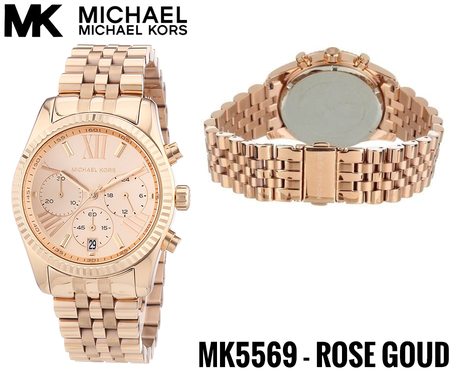 7893e499d42 Michael Kors Dameshorloge - MK5569 Rosé Goud | Dagelijks ...