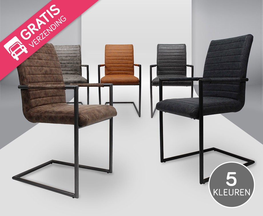 Black Frame Designstoelen In 5 Kleuren Dagelijks Topaanbiedingen