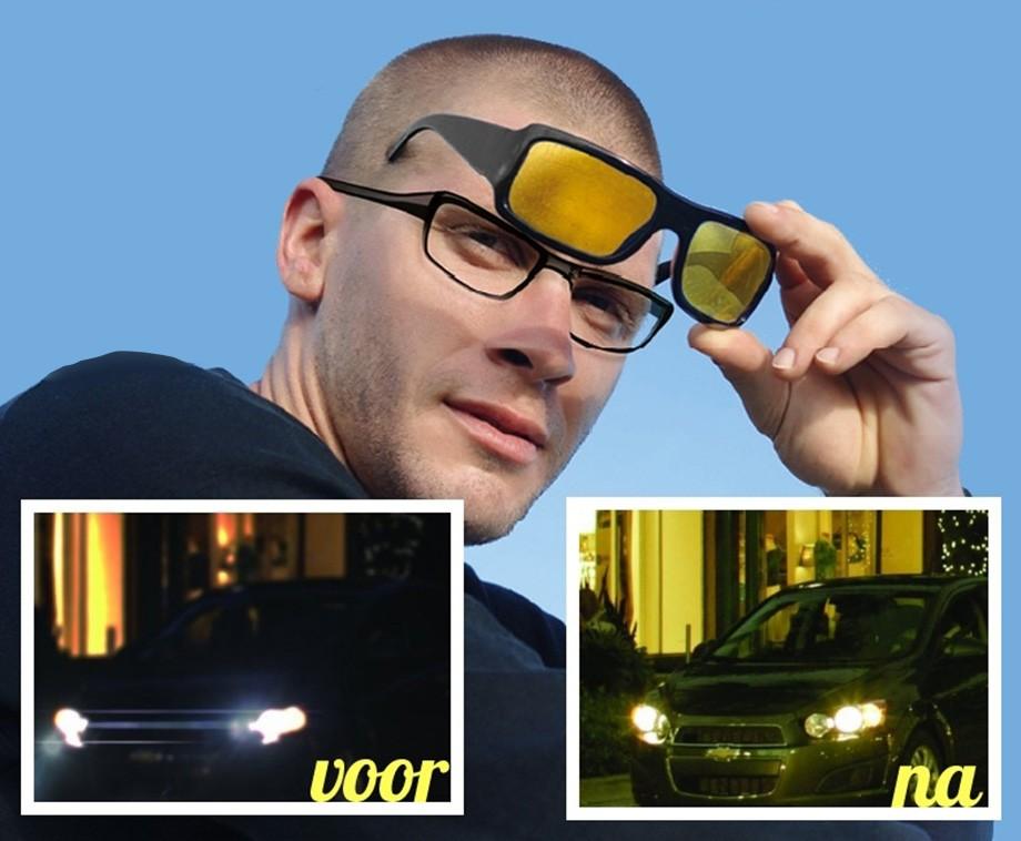 c39cdfe3ee37eb Night Vision Nachtbril Deluxe Unisex - Optimaal Zicht In Donker En Bij  Regen!