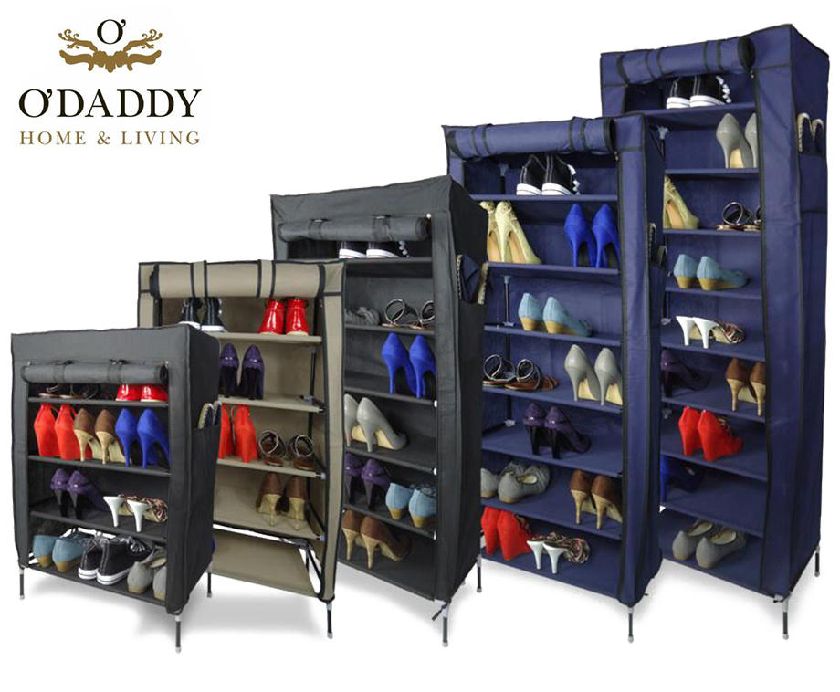 Opbergkast Voor Schoenen.Multifunctionele Afsluitbare Opbergkast Voor Schoenen Textiel