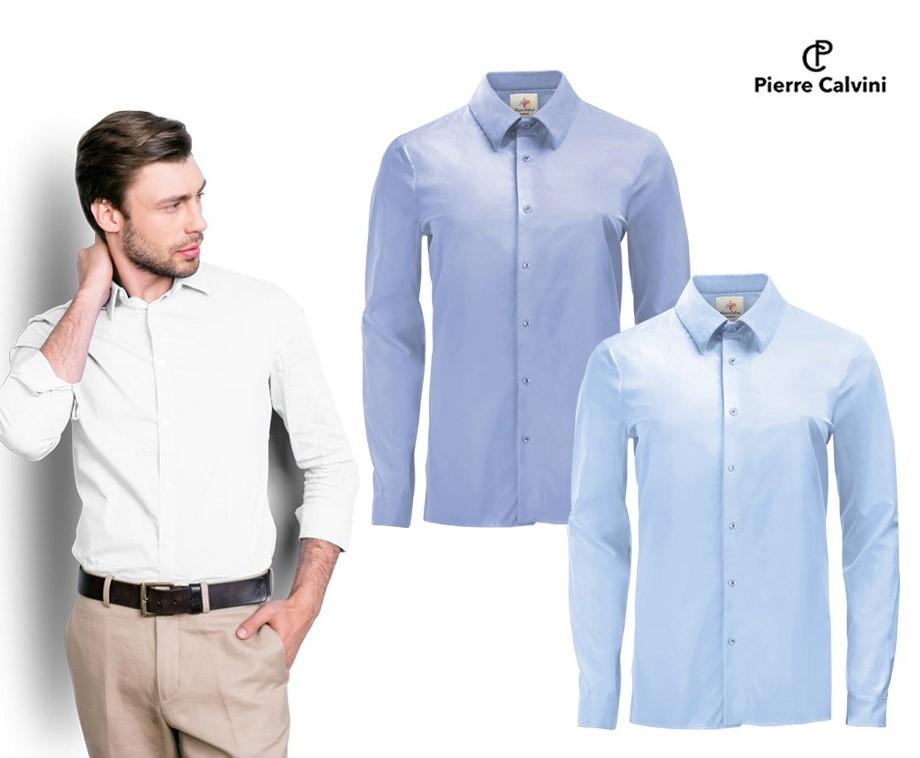 Overhemd Op Maat.2 Pack Pierre Calvini Overhemden Kies Uit Maat S T M Xxl En 3