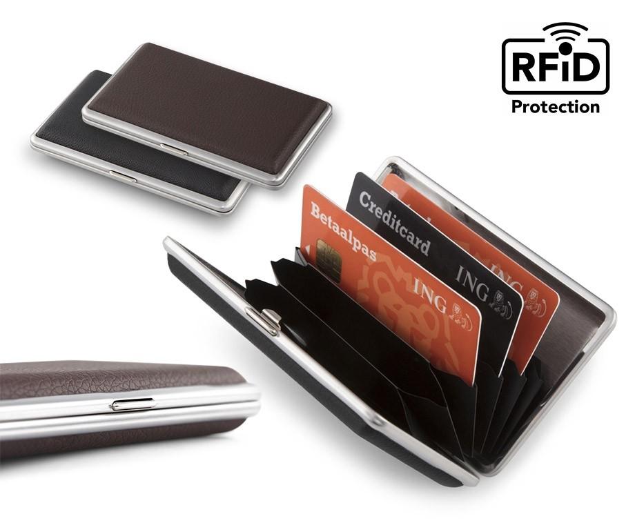 Portemonnee Alleen Pasjes.Aluminium Portemonnee Voor Pasjes Met Rfid Bescherming Tegen
