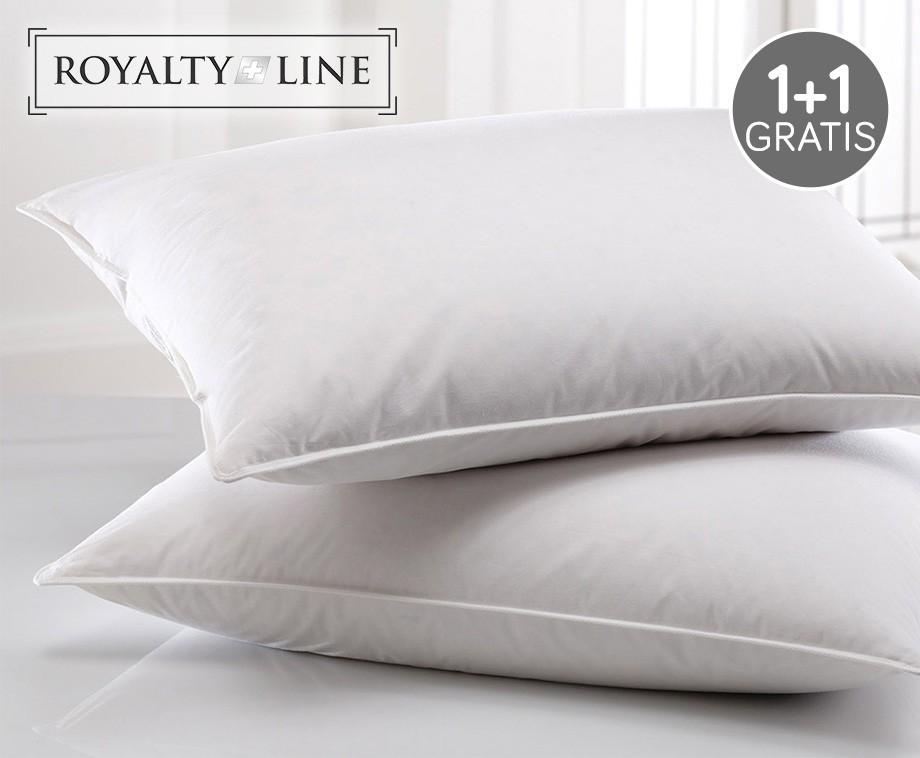 Royalty line comfort kussen met tijk van percal katoen 1 1 for Www comfort kussen nl