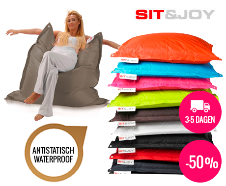 Sit And Joy Zitzak.Sit Joy Zitzak Basic Square 100 X 150 Cm Voordeelvanger Nl