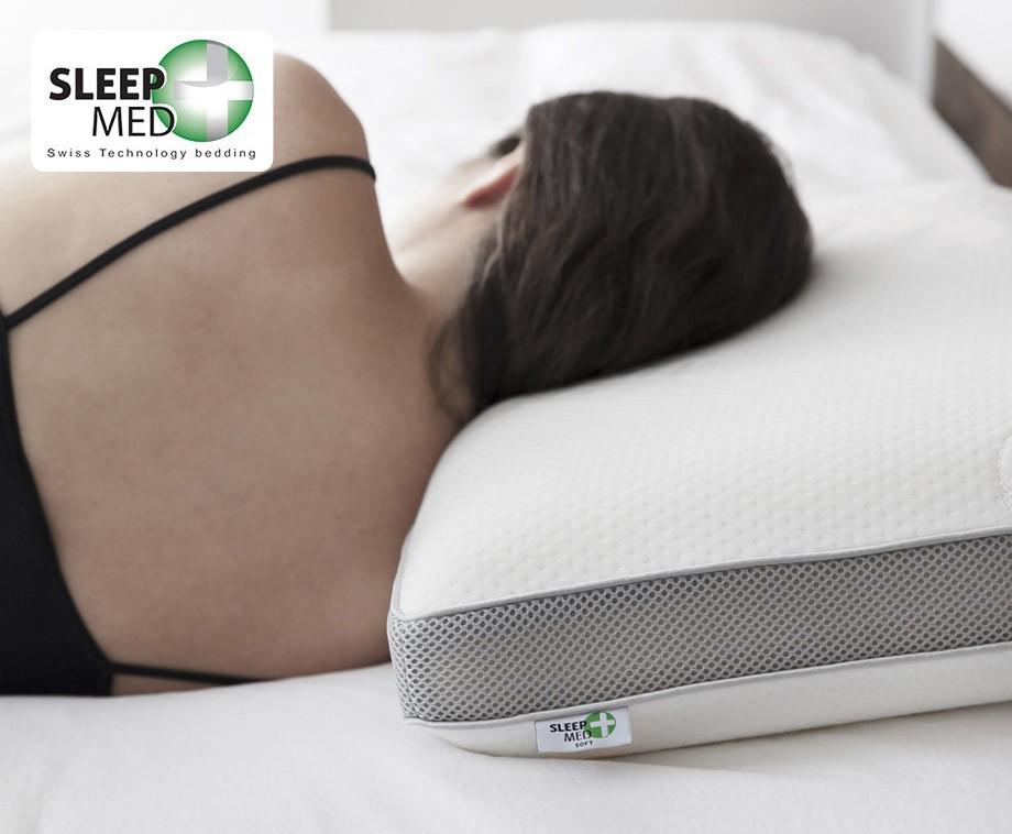 Sleep Med Kussen : Sleep med traagschuim kussen met d ventilatieband dagelijks