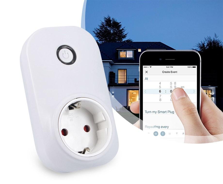 Smart WiFi Stopcontact - Een Afstandsschakelaar Inclusief Bediening ...