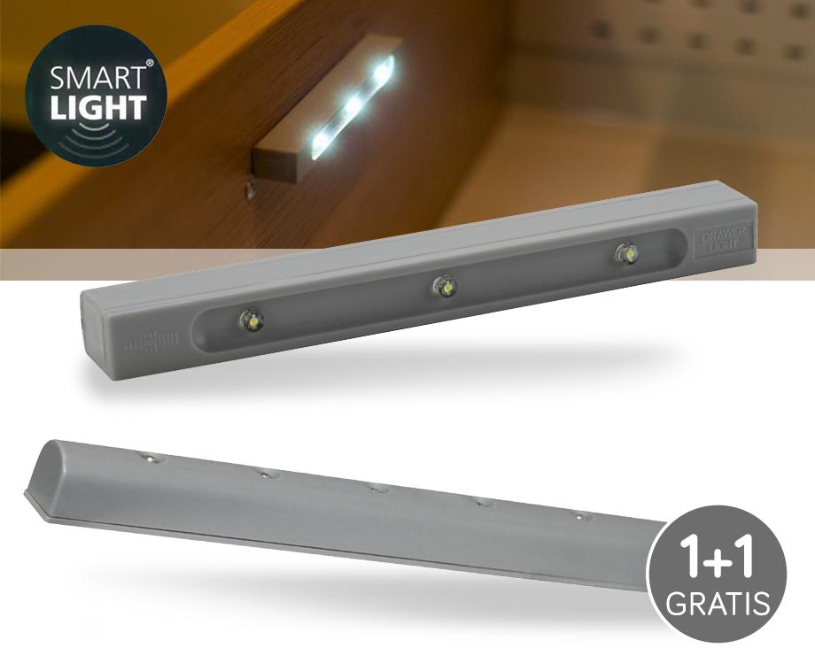 Smartlight Draadloze LED Verlichting Met Trilsensor 1+1 GRATIS ...