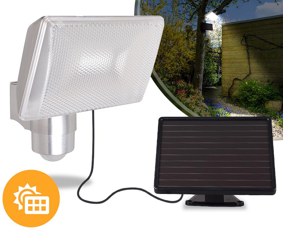 Solar LED Floodlight Met Bewegingssensor - Ideaal Bij Voordeur Of ...