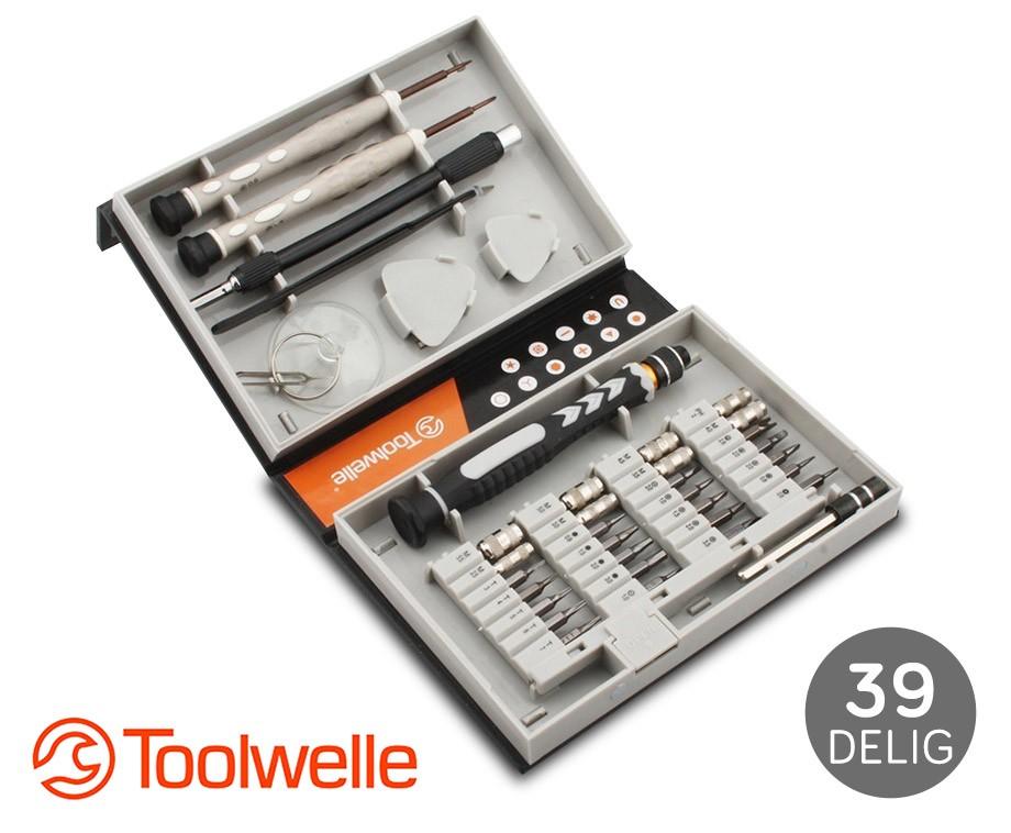 Super 39-Delige Toolwelle Precisie Schroevendraaierset! | Dagelijks QV63