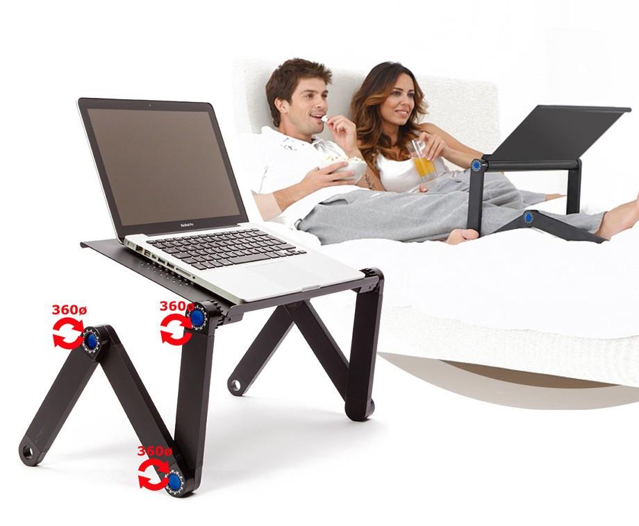 Super Ergonomische Verstelbare Laptoptafel - Ideaal Voor Thuiswerkers VJ-03