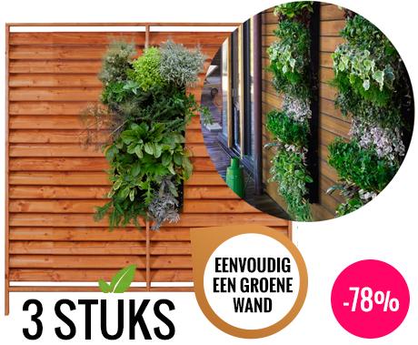 Planten In Tuin : Verticale tuin 3 stuks unieke manier om planten op te hangen