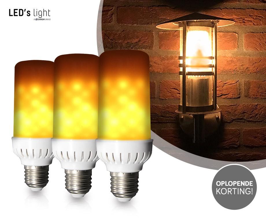 Lampen Voor Buiten : E lamp met flikkerend vlameffect sfeervolle verlichting voor