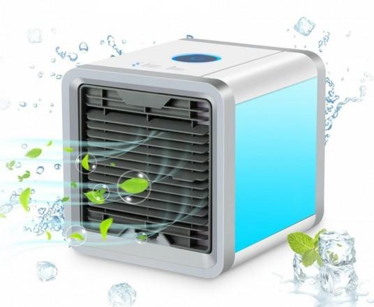 Air Cooler - Compacte En Draagbare Luchtkoeler Met Moodlight!
