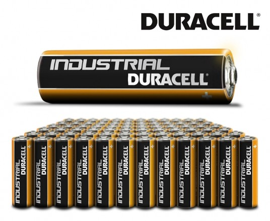 72 Stuks Duracell Industrial Batterijen - 72 x AAA