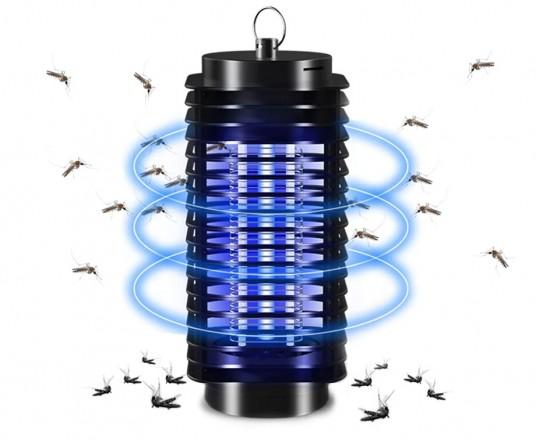 Mesa Living Elektronische Insectenlamp - Schakelt Muggen, Motten En Andere Insecten Uit!