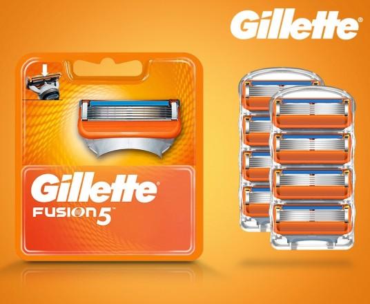 8-Pack Originele Gillette Fusion5 Scheermesjes - Nergens Goedkoper!