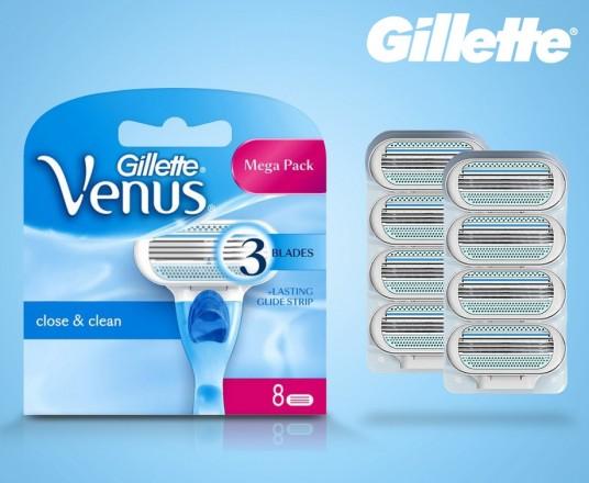 Originele Gillette Venus 8-pack Scheermesjes - Voordelig Scheren!