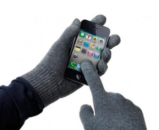 Avanca Touchscreen Handschoenen - Grijs