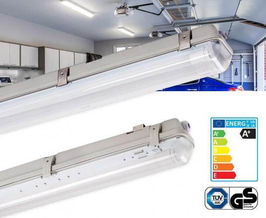 Waterdichte LED TL Buizen 60/120/150 cm - Met Enkel, Dubbel Of Sensor Armatuur!