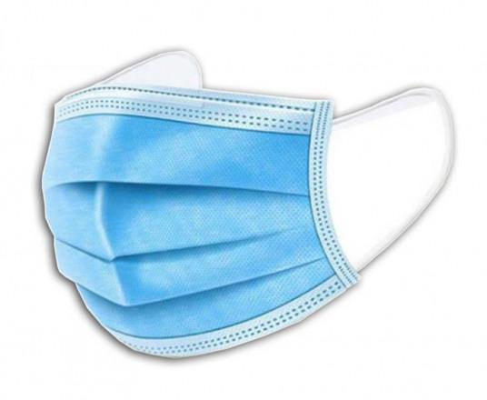 50 Stuks 3-Laags Blauwe Mondkapjes - Bescherm Jezelf En Anderen!