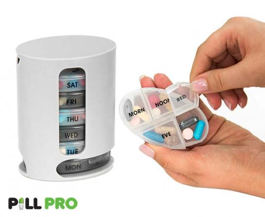 Pill Pro Organizer - Nooit Meer Medicatie Vergeten!