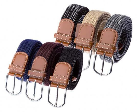 3-Pack Comfortabele Elastische Riemen - Verkrijgbaar In 3 Kleuren!